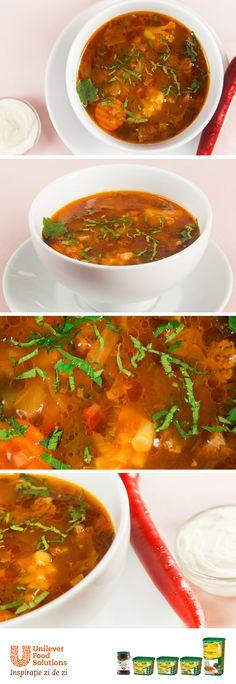 CIORBA TARANEASCA DE VACUTA Supe, Roots, Curry, Ethnic Recipes, Curries