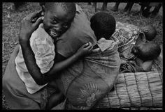Children were especially susceptible to the disease, Zaire, 1994. By James Nachtwey