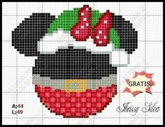 Christmas Cartoon Characters, Christmas Cartoons, Disney Christmas, Christmas Cross, Disney Cross Stitch Patterns, Cross Stitch For Kids, Plastic Canvas Christmas, Plastic Canvas Crafts, Cross Stitching