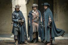 Athos, Aramis & Porthos