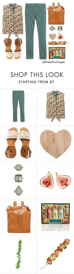 """""""Sweet Day"""" by stormbattereddragon ❤ liked on Polyvore featuring Madewell, Lafayette 148 New York, Aéropostale, 10 Bells, The Row, Crabtree & Evelyn, Gold Eagle and National Tree Company"""