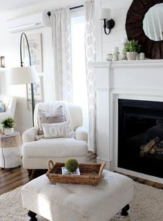 Neutral color, modern and transitional shapes, painted stump Riveting  Elements