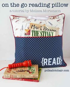 An On-the-Go Reading Pillow