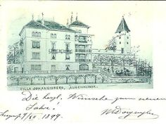 Luzern Augenklinik 1899VillaJohannisberg in Ennetmoos kaufen bei ricardo.ch Taj Mahal, Villa, Building, Travel, Lucerne, Round Round, House, Ideas, Viajes