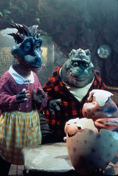 "I am not a 90's girl, but i did love this show ""Dinosaurs""  Oh i am much older"