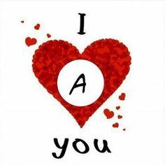 A Letter Wallpaper, Love Quotes Wallpaper, Flower Phone Wallpaper, Cute Wallpaper For Phone, Alphabet Letters Design, Alphabet Images, Alphabet Art, Love Heart Images, Cute Love Images