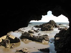 Cave at Leo Carrillo State Park