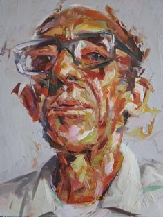Paul Wright Wright Archive - Paul Wright He Lives in a Hotel 2010 - Oil on board