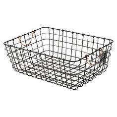 Threshold™ Antique Pewter Decorative Basket - Black  http://www.target.com/p/threshold-antique-pewter-decorative-basket-black/-/A-16251829#prodSlot=medium_1_8&term=threshold+basket