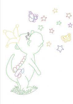 Dragon with stars