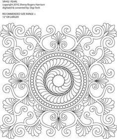 Pearl Block #1 by Sherry Rogers-Harrison SRH02
