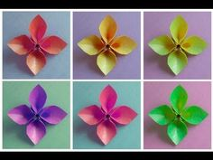 This four petal origami flower can be used as a dish. http://www.origamispirit.com/2010/12/origami-hollow-petal-flower/