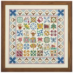 Farmers Daughter Quilt Blocks - Cross Stitch, Needlepoint, Stitchery, and Embroidery Kits, Projects, and Needlecraft Tools | Stitchery