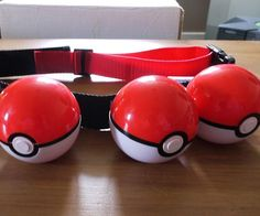 If you want to beat the rest, you have to dress like the best by accenting your look with the Pokeball belt. The design keeps your chosen Pokemon close at hand so that you can deploy their services at a moments notice should danger arise.