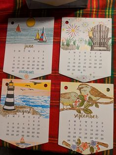 Calendar Pages, Calendar Templates, Calendar 2018, Calendar Ideas, Stampin Up Paper Pumpkin, Pumpkin Cards, Mini One, Scrapbook Cards, Scrapbooking