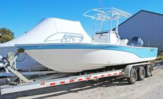 Bay Boats for Sale Bay Boats For Sale, Center Console Fishing Boats, Small Fishing Boats, Flats Boat, Canoes, Boat Building, Catamaran, Viper, Water Crafts