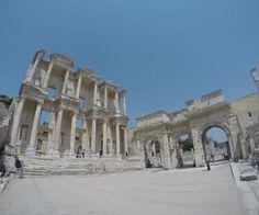 Library of Calsus Ephesus. #ephesus #turkey #travel #rtw