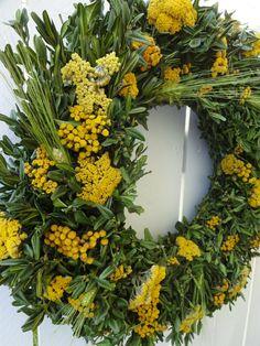 Boxwood Wreath, Twig Wreath, Green Wreath, Wreath Crafts, Floral Wreath, Autumn Wreaths For Front Door, Fall Wreaths, Picture Wreath, Indoor Wreath
