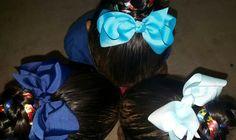 My beautys are #LIUB for their lil bro♡ & raising autism awareness through braids!!!