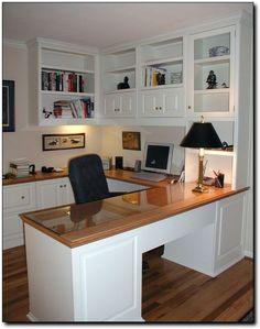 Trendy home office built ins diy shelves Ideas Office Built Ins, Built In Desk, Built In Cabinets, Custom Cabinets, White Cabinets, Wall Cabinets, Office Cabinet Design, Home Office Cabinets, Home Office Space