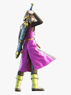 The Eleventh Hero of the Dragon Quest series,Luminary. Akira Characters, Dragon Ball, Chrono Trigger, Gaming Wallpapers, Hero Arts, Nerd Stuff, Saga, Videogames, Character Design