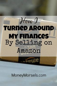 I managed to pay off debt and increase my cash flow by selling on Amazon FBA…