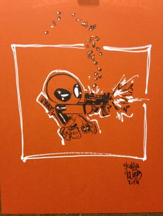 Deadpool by Skottie Young
