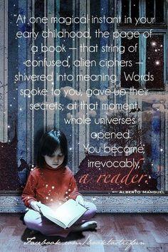 Do you remember when you became a reader?