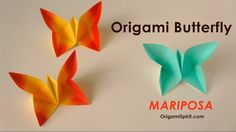 Easy Paper Butterfly -Make in Less Than 6 Minutes