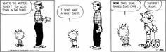 Calvin and Hobbes strip for March 7, 2015