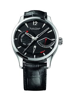 Louis Erard 1931 Collection Swiss Automatic Black Dial Men's Watch Top watches for men Goes well with any wardrobe. This specific watch in the Louis Erard collection uses scra… Top Watches For Men, Cool Watches, Man Watches, Elegant Watches, Beautiful Watches, Louis Erard, Dream Watches, Watch Brands, Tricks
