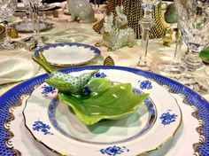 Sharing the Love From Design Chic Blog – Re-capping NC Luncheon – Pretty Table Settings   Frances Schultz