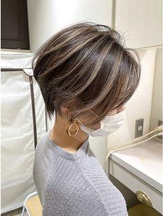 Beautiful Brown Hair, Gorgeous Hair, Cut My Hair, Hair Cuts, Under Hair Dye, Short Straight Hair, Asian Short Hair, Medium Hair Styles, Curly Hair Styles