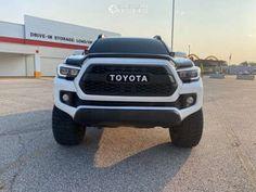 "2016 Toyota Tacoma - 18x10 -12mm - Fuel Trophy - Suspension Lift 3"" - 33"" x 12.5"""