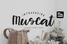 A hand-made brush font, wich simulates natural handwriting on Creative Market. Digital design goods for personal or commercial projects. Graphic design elements and resources.