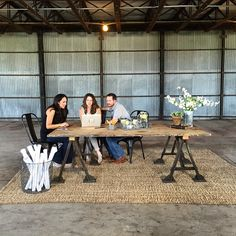 "Shooting our first ""design day"" in the future offices at the silos #magnoliasilos #fixerupper @hgtv #season3"