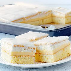 Ciasto kostka cytrynowa   Kwestia Smaku