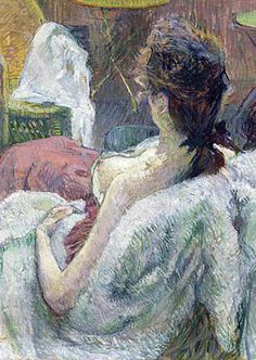 Henri de Toulouse Lautrec, modelo descansando.