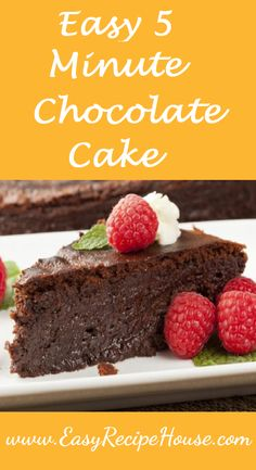http://bestkitchenequipmentreviews.com/pressure-cooker/ Easy 5 Minute Chocolate Cake - Easy Dessert Recipe- Quick and Simple Pudding