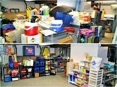 Is Your Basement the Place Where Crap Goes to Die? Here's Help! #diy http://www.ivillage.com/how-clean-your-basement/7-a-527468#