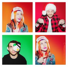 Christmas time = Paramore getting 100000x cuter