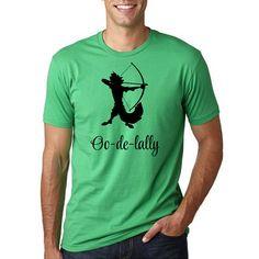 Robin Hood Disney Shirt // Oo-de-lally // Men's by HimAndGem
