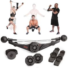 OYO Personal Gym - Full Body Portable Gym Equipment Set for Exercise at Home, Office or Travel - SpiraFlex. Title: OYO Personal Gym - Full Body Portable Gym Equipment Set for Exercise at Home, Best Home Gym Equipment, No Equipment Workout, Fitness Equipment, Training Equipment, Workout Equipment, Sports Equipment, Gym Workouts, At Home Workouts, Cardio Hiit