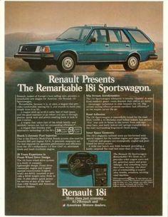 1981 Renault 18i Sportswagon