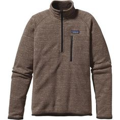Patagonia always comes through with exceptional quality. This is a beautiful casual sweater, zip up, perfect for layering or on its own. Better Sweater 1/4-Zip (Men's) #CyberMonday