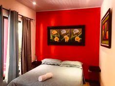 Millenium Hostels - Manuel Antonio, Manuel Antonio - 2020 Prices & Reviews - Hostelworld Comfy Bedroom, Enjoying The Sun, Lounge Areas, Best Location, Hostel, Costa Rica, Terrace, National Parks, Furniture