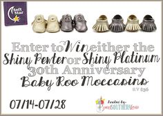 Enter to Win Baby Roo Moccasins!