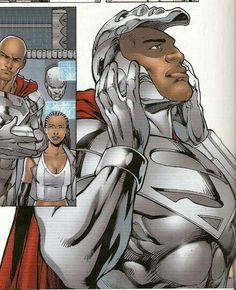 I was checking out this guy and I was wondering if he could be the DC vertion of Iron Man ? Black Characters, Comic Book Characters, Comic Book Heroes, Marvel Characters, Comic Character, Comic Books Art, Hq Marvel, Marvel Comics, Steel Dc
