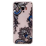 For+Samsung+Galaxy+S8+Plus+S8+Flower+Pattern+TPU+Material+Rhinestone+Glow+in+the+Dark+Soft+Phone+Case+for+S7+Edge+S7+–+AUD+$+5.71