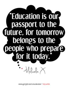 Giving a child early #education not only ensures that they'll see the world, but that they'll change it for the better.